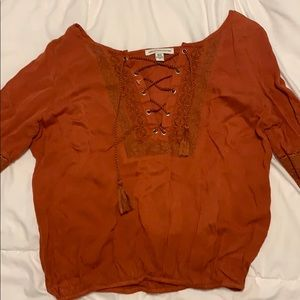 American eagle blouse never worn before